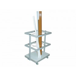 Troller transport vertical profile, compartimentat