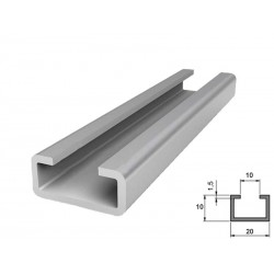 Sina-Suport pt. perii si profile de ghidaj, profil metalic tip C otel zincat