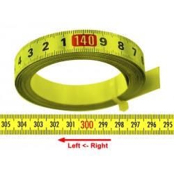 Banda milimetrica 13mm, galben, ST.
